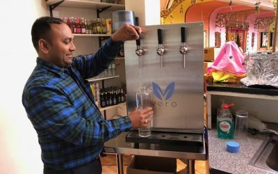 Namaste Village brings Vero Water to the table