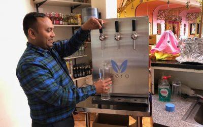 Namaste Village brings Vero Water to the table